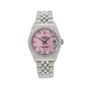 Rolex Datejust 78274 31MM Pink Diamond Dial With 1.05 CT Diamonds