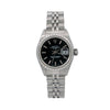 Rolex Oyster Perpetual Lady Date 69240 26MM Black Dial With Stainless Steel Jubilee Bracelet