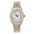 Rolex Datejust 16013 36MM White Dial With Two Tone Jubilee Bracelet