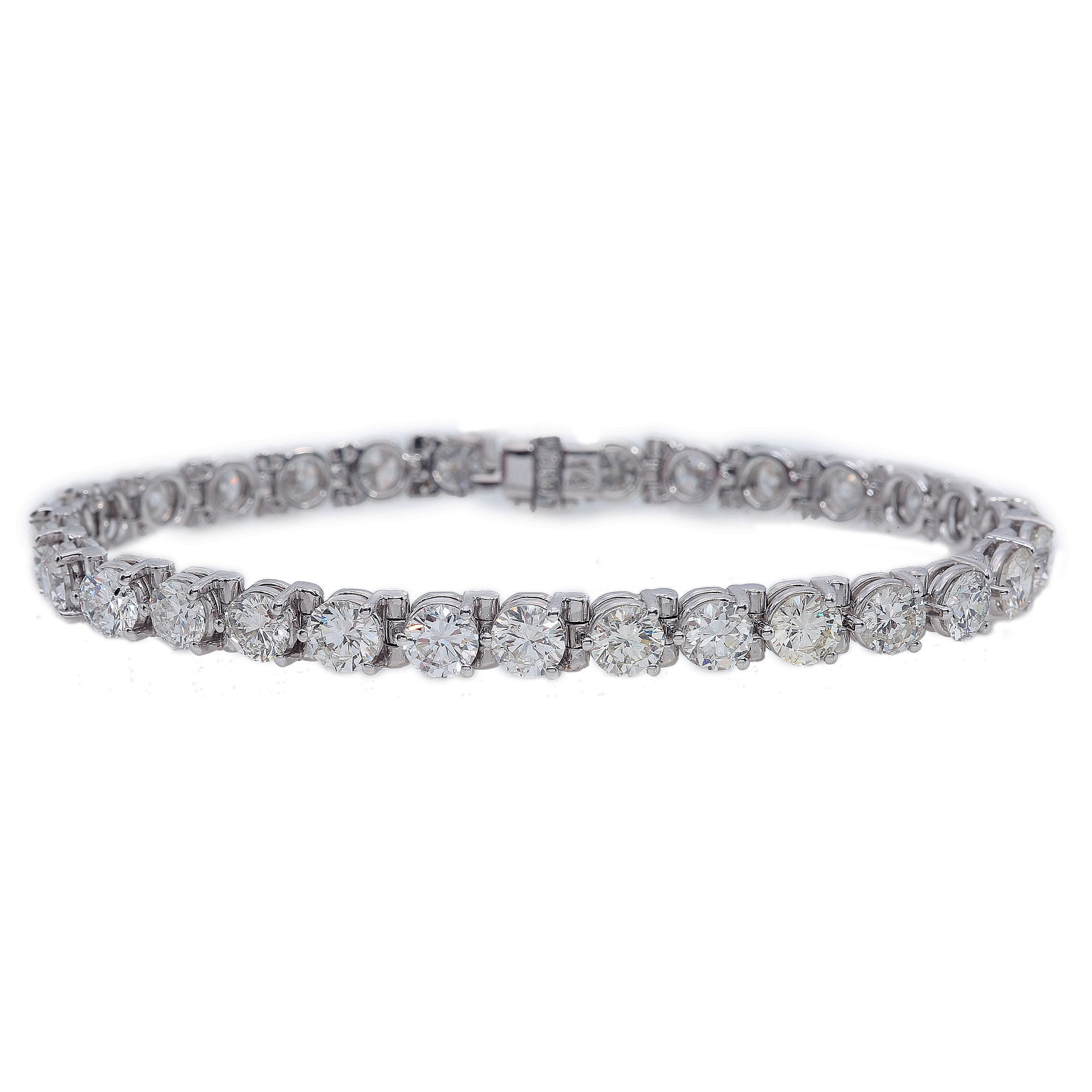 18K White Gold Women Bracelet