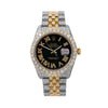 Rolex Datejust 116233 36MM Black Diamond Dial With Two Tone Jubilee Bracelet