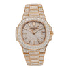 18K Rose Gold Patek Philippe Nautilus 5711/1R 40mm Champagne Diamond Watch