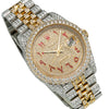 Rolex Datejust Diamond Watch, 116233 36mm, Champagne Arabic Numeral Dial With 13.25CT Diamonds Watch