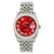 Rolex DateJust Diamond Watch, 116234 36mm, Red Dial With 13.75CT Diamonds