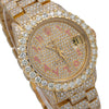 Rolex Datejust 68278 31MM Champagne Diamond Dial With 12.25 CT Diamonds