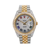 Rolex Datejust 126303 41MM Rainbow Diamond Dial With Two Tone Bracelet