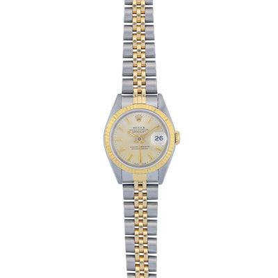 Rolex Lady Datejust 26MM Stainless Steel & Yellow Gold 69173