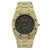 Audemars Piguet Custom Royal Oak Lady 18k Yellow Gold Flooded in Diamonds
