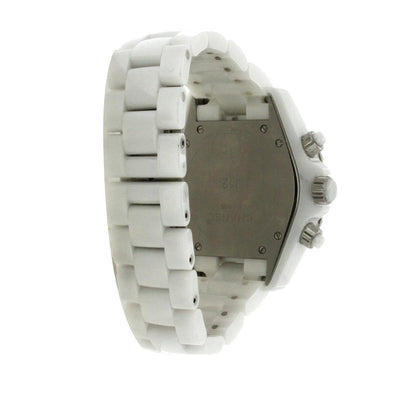 Chanel J12 White Ceramic 41MM Chronograph - H1007