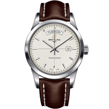 Breitling Transocean Day & Date 43MM A4531012/G751 Stainless Steel Case and Bezel