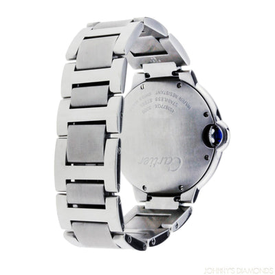 Cartier Ballon Bleu Stainless Steel Large Size Stainless Steel