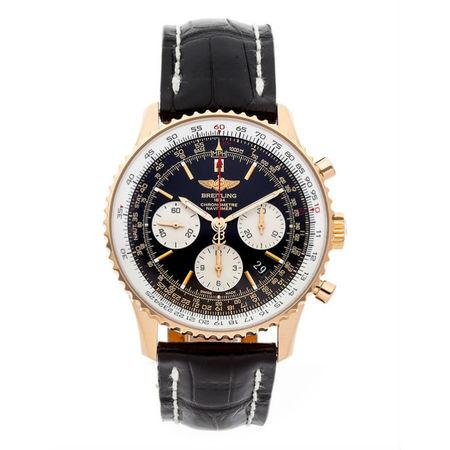 Breitling Navitimer 43mm RB012012-BA49 18k Rose Gold Case with 18k Rose Gold Bezel