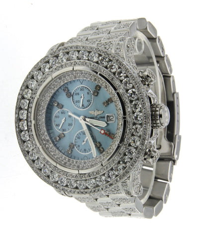 Diamond Watch Bretling Super Avenger