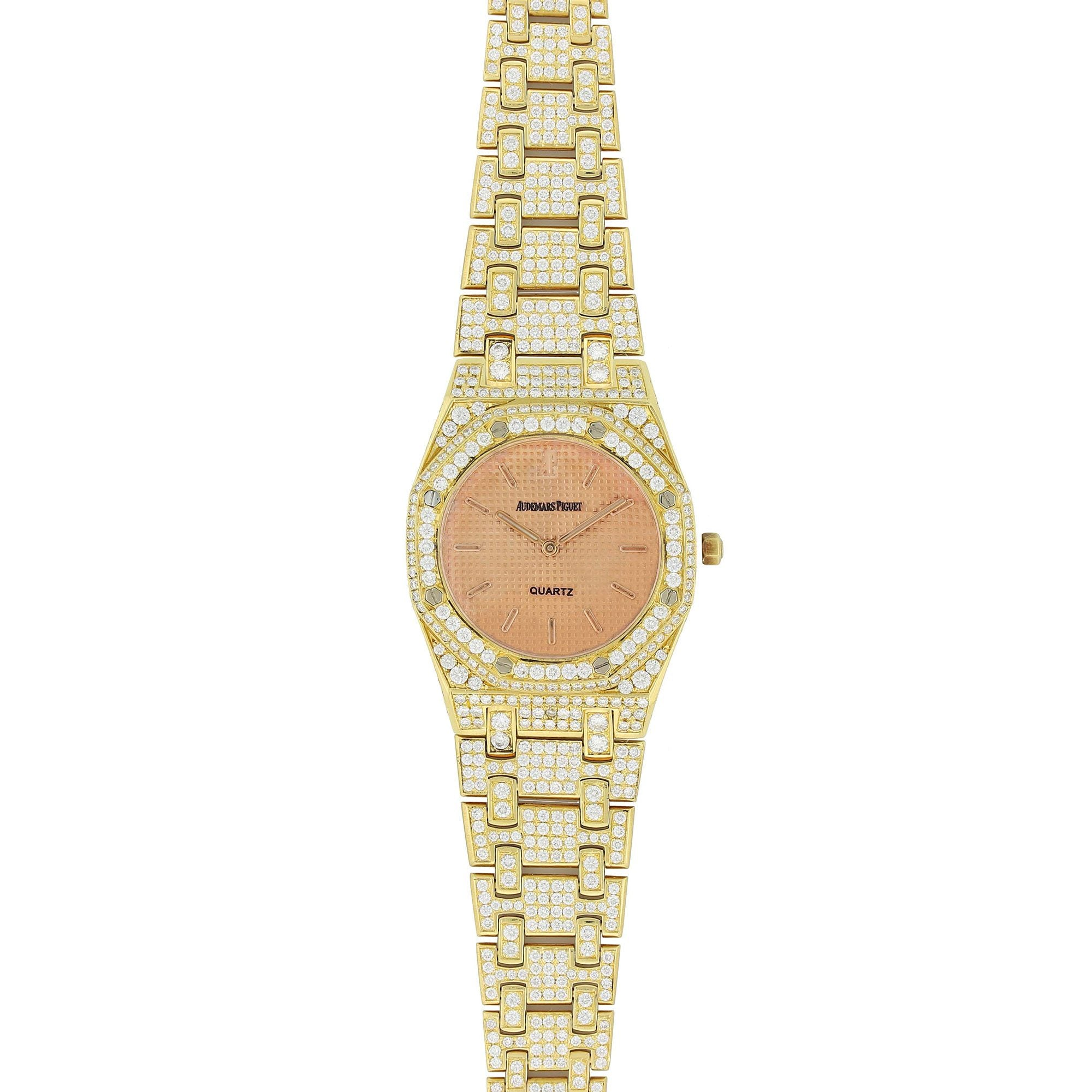 Audemars Piguet Royal Oak Lady 33MM 18K Yellow Gold 67600BA.OO.1210BA.01