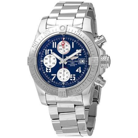 Breitling Avenger II Chronograph 43mm A13381111C1A1 Stainless Steel Case with Stainless Steel Bezel