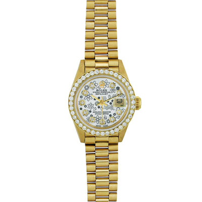 Rolex Lady Datejust President 26MM 6917