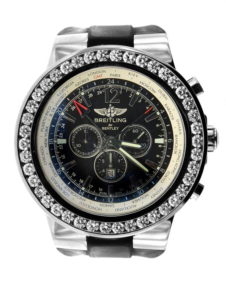 Breitling For Bentley with Diamond Bezel