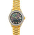 18k Yellow Gold Rolex Datejust Diamond Watch, 26mm, President Bracelet Black Mother of Pearl Dial w/ Diamond Bezel and Lugs