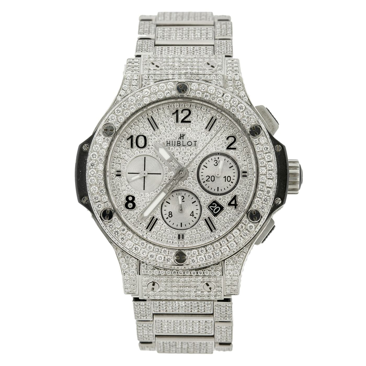 Hublot Big Bang 301.SX 44mm 16CT Diamond Watch