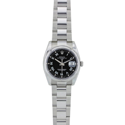 Rolex Stainless Steel Date Watch 34MM 115200