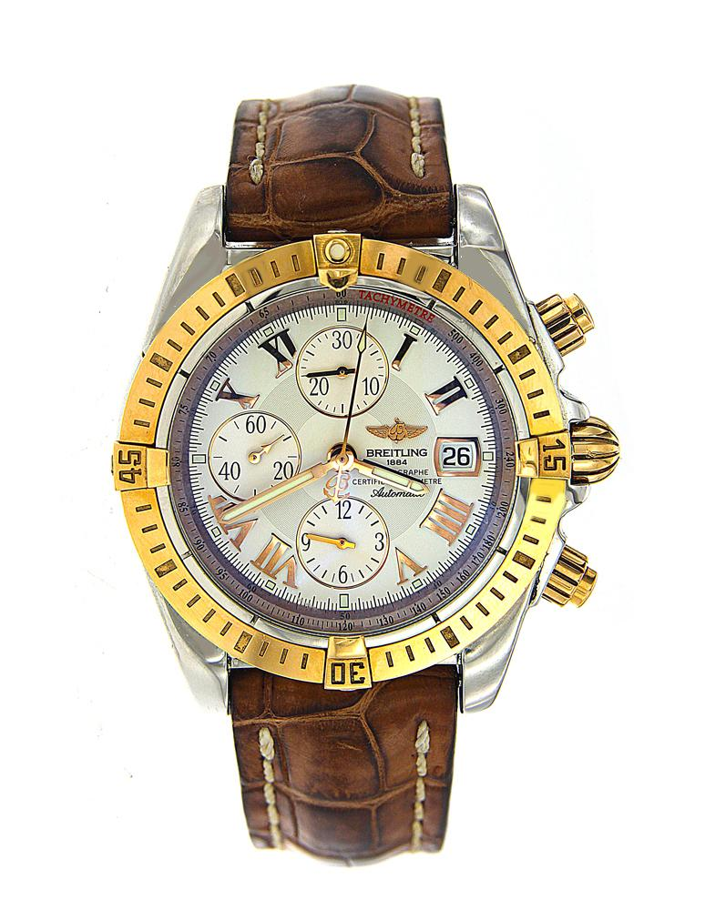 Two Tone Breitling Windrider