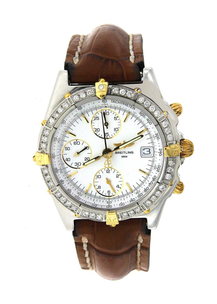 Two Tone Breitling Chronomat