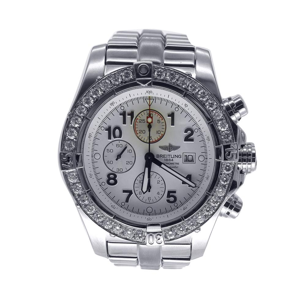 Breitling Super Avenger Stainless Steel 48.5mm