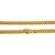14K Yellow Gold Men's Solid Miami Cuban Link