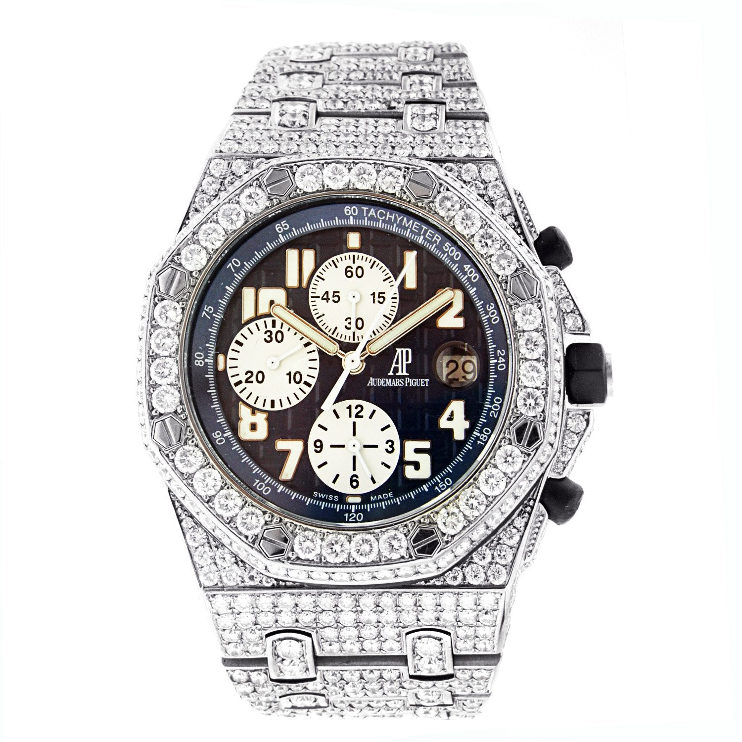 Audemars Piguet Royal Oak Offshore Chronograph with Diamonds 42MM
