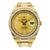 18K Yellow Gold Rolex Diamond Watch, Day Date II 41mm, Champagne Diamond Dial & 5CT Diamond Bezel