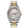 Rolex Datejust Diamond Watch, 26mm, Yellow Gold and Stainless Steel Bracelet Martini Dial w/ Diamond Bezel and Lugs