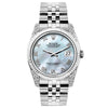 Rolex Datejust 26mm Stainless Steel Bracelet Blue Mother of Pearl Dial w/ Diamond Lugs
