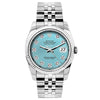 Rolex Datejust 26mm Stainless Steel Bracelet Blue Rays Dial