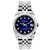 Rolex Datejust 26mm Stainless Steel Bracelet Blue Black Dial