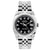 Rolex Datejust 26mm Stainless Steel Bracelet Black Star Dial