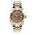 Rolex Datejust 36mm Yellow Gold and Stainless Steel Bracelet Earthen Dial