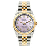 Rolex Datejust 36mm Yellow Gold and Stainless Steel Bracelet Mother of Pearl Dial