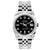 Rolex Datejust 26mm Stainless Steel Bracelet Black Dial