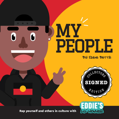 *Signed* MY PEOPLE Book