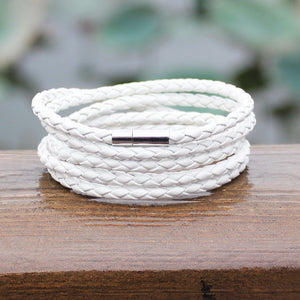 The Monaco 5 Lap Leather Bracelet