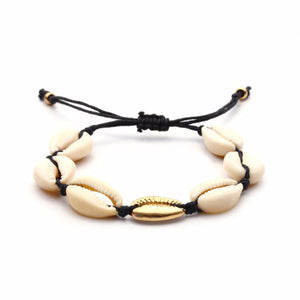 Handmade Sea Shell Adjustable Bracelet