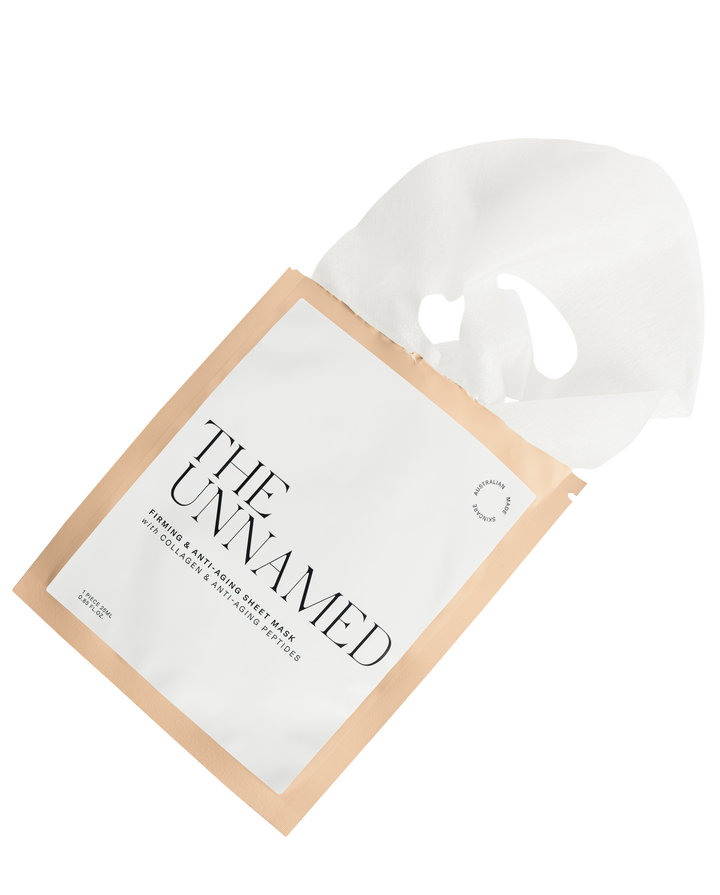 Sheet Mask Coming Out of Pouch