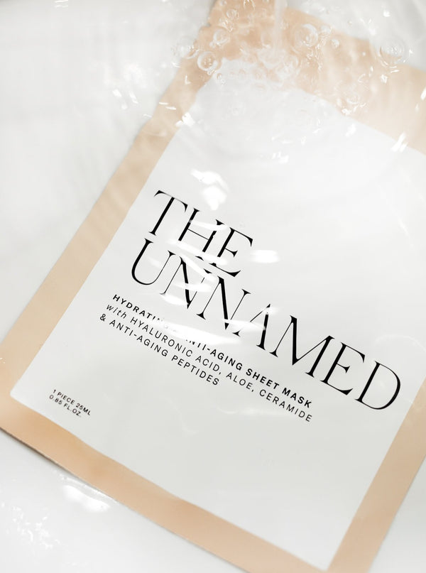 The Unnamed Hydrating Face Sheet Masks Under Water