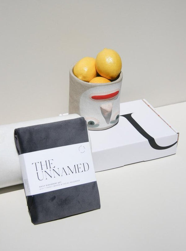 The Unnamed Daily Discovery Set with Box & Pottery & Lemons