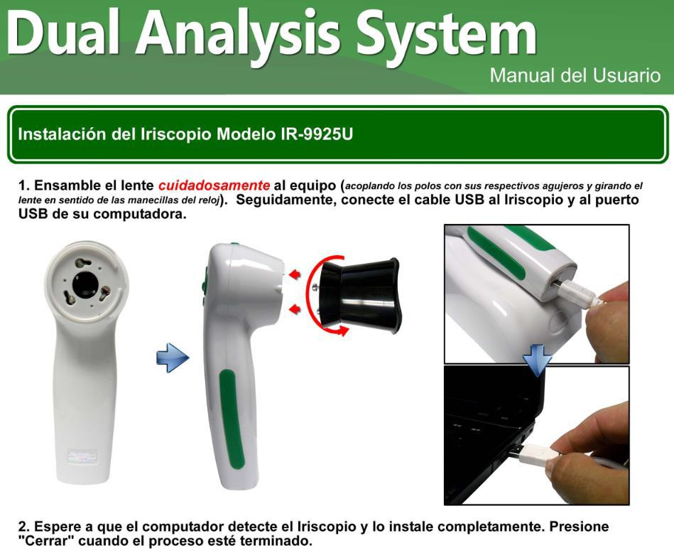 iriscope iris analyzer