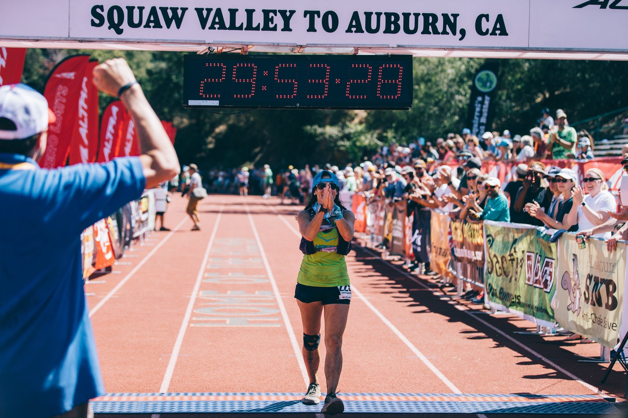 Andrea Kooiman - An Everyday Mom at Western States 100