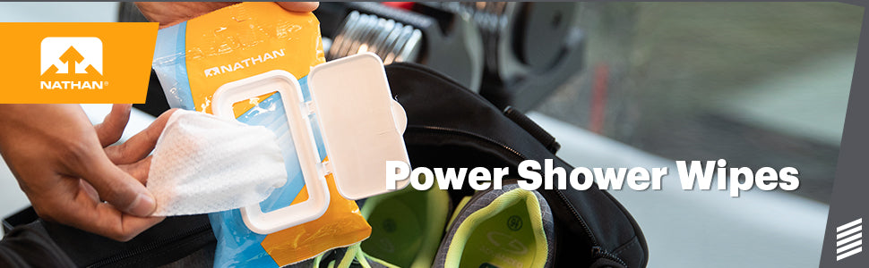 Power Shower Wipes Product Header