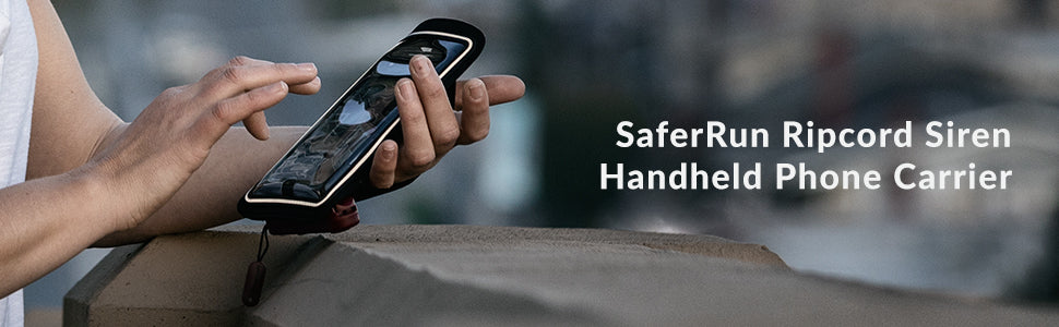 SaferRun Handheld Phone Carrier Product Header