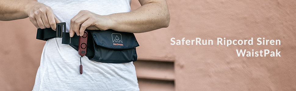 SaferRun Alarm Waist Pack Product Header