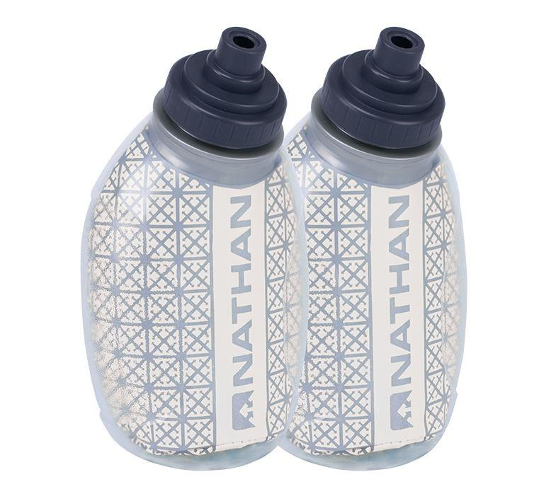 Fire and Ice Flask 2-Pack Hydration Nathan Clear 8oz